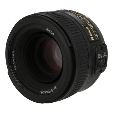 Nikon Nikkor 50 mm F1.8 SWM AF-S Aspherical G Objetivo negro - nuevo