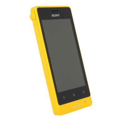 Sony Xperia go 8 GB gelb - neu