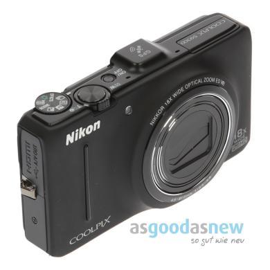 Nikon CoolPix S9300 noir - Neuf