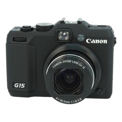 Canon PowerShot G15 Schwarz - neu