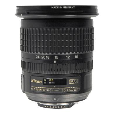 Nikon AF-S Nikkor 10-24mm 1:3.5-4.5G ED DX Schwarz - neu
