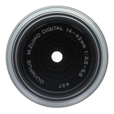 Olympus Zuiko Digital 14-42mm 1:3.5-5.6 ED Micro cuatro tercios plata - nuevo