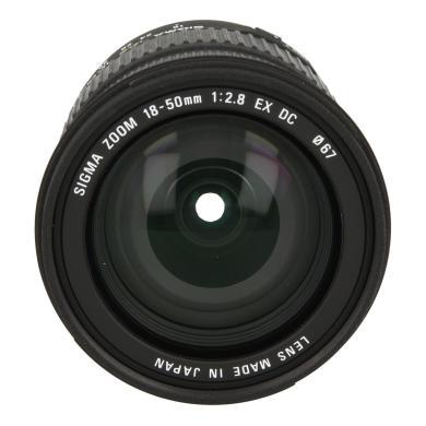 Sigma 18-50mm 1:2.8 EX DC für Canon Schwarz - neu