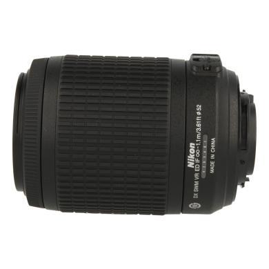 Nikon 55-200mm 1:4-5.6 AF-S G DX ED VR NIKKOR negro - nuevo
