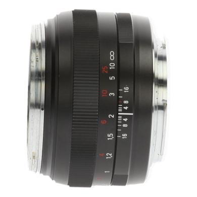 Zeiss 50mm 1:1.4 ZE Planar T* pour Canon noir - Neuf