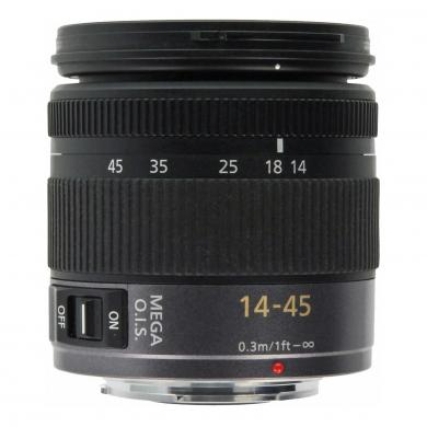 Panasonic 14-45mm 1:3.5-5.6 Lumix ASPH OIS Micro Four thirds noir - Neuf