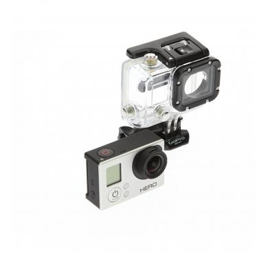 Go Pro HD HERO3 blanco Edition plata negro - buen estado