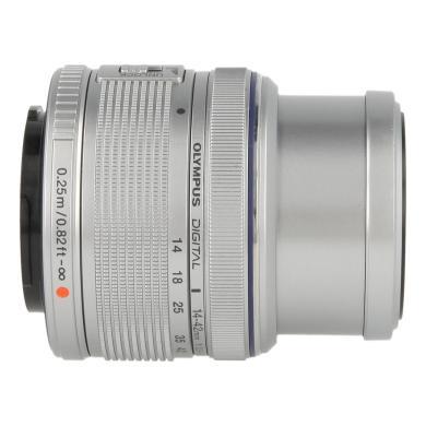 Olympus Zuiko Digital 14-42mm 1:3.5-5.6 II R argent - Neuf