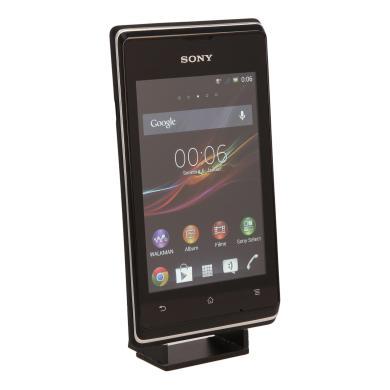 Sony Xperia E schwarz - neu