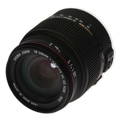 Sigma 18-200mm 1:3.5-6.3 II DC OS HSM für Canon Schwarz - neu