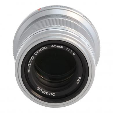 Olympus M.Zuiko 45mm f1.8 Objektiv Silber - neu