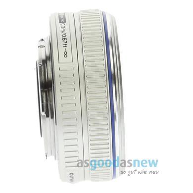 Olympus Zuiko Digital 17mm 1:2.8 Pancake plata - nuevo
