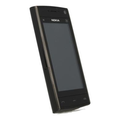 Nokia X6 16 GB Schwarz - neu