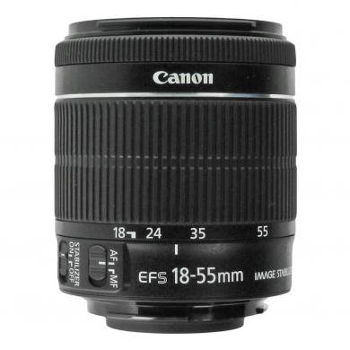 Canon EF-S 18-55mm 1:3.5-5.6 IS STM Schwarz - neu