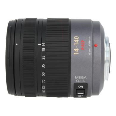 Panasonic 14-140mm 1:4-5.8 Lumix G Vario HD ASPH O.I.S Schwarz - neu