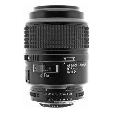 Nikon AI-S Micro-Nikkor 105 mm f2.8 objectif 1455 noir - Neuf