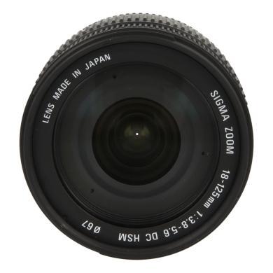 Sigma 18-125mm 1:3.8-5.6 DC HSM für Sony & Minolta Schwarz - neu
