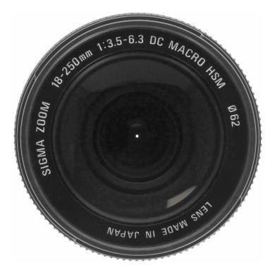 Sigma 18-250mm 1:3.5-6.3 DC HSM Macro für Sony / Minolta Schwarz - neu