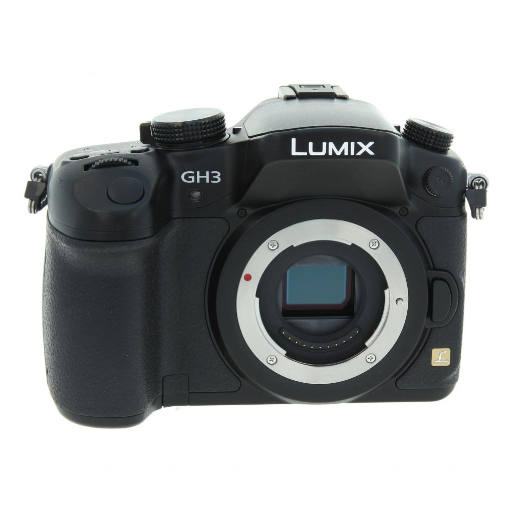 Panasonic Lumix DMC-GH3 Schwarz - neu