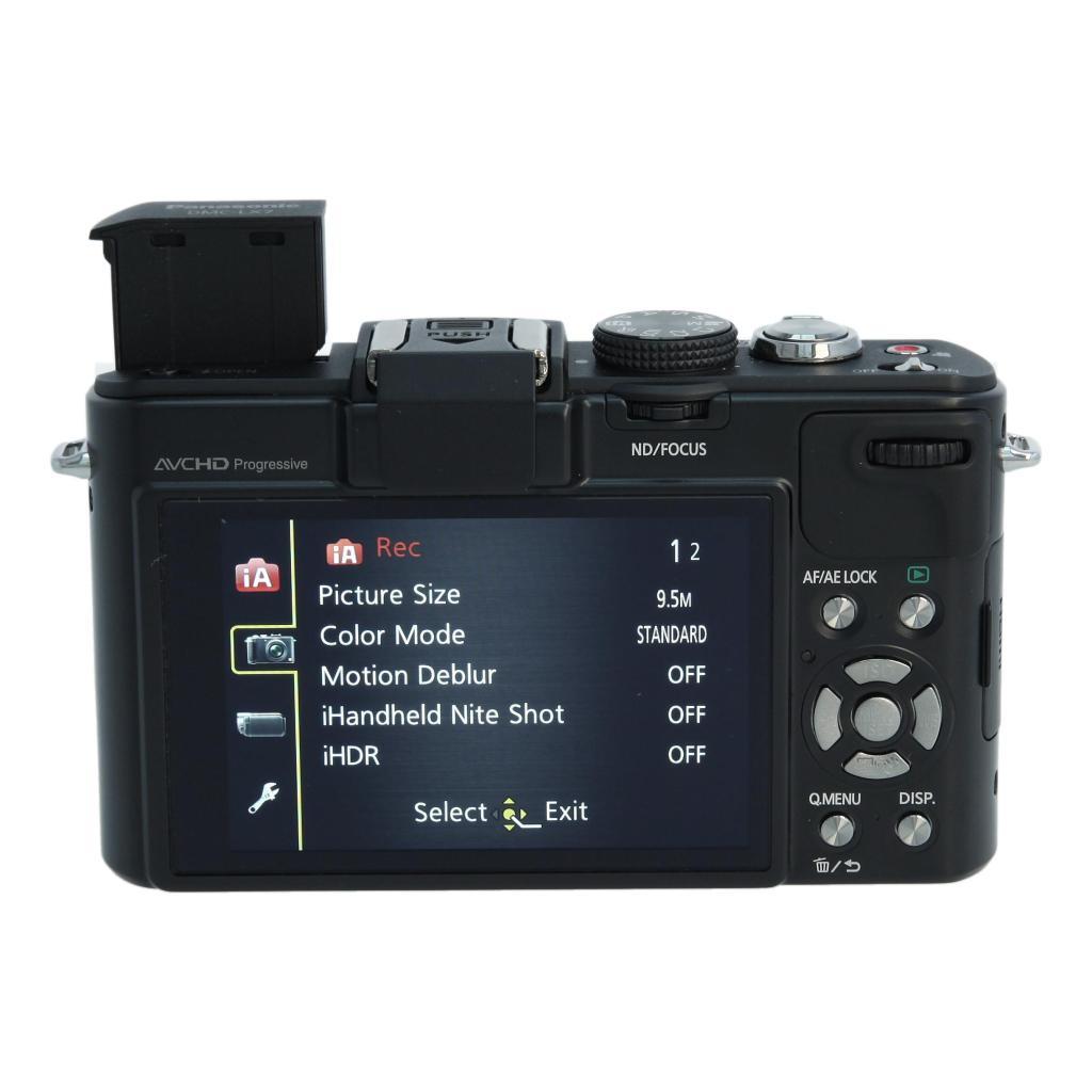 Panasonic Lumix DMC-LX7 negro - nuevo