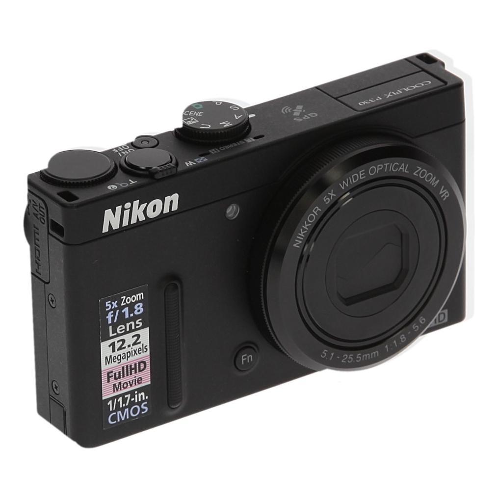 Nikon CoolPix P330 Schwarz - neu