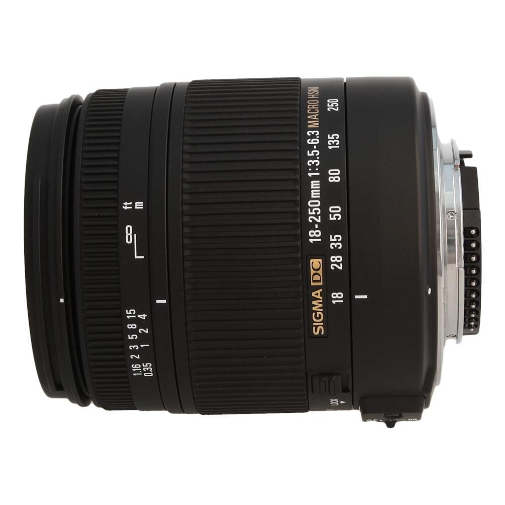 Sigma 18-250mm 1:3.5-6.3 DC OS HSM Macro für Nikon Schwarz - neu