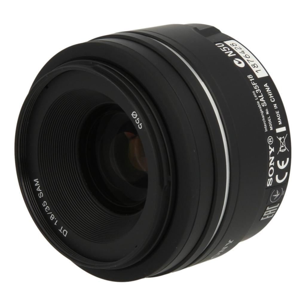 Sony SAL-35F18 35 mm F1.8 DT objectif noir - Neuf
