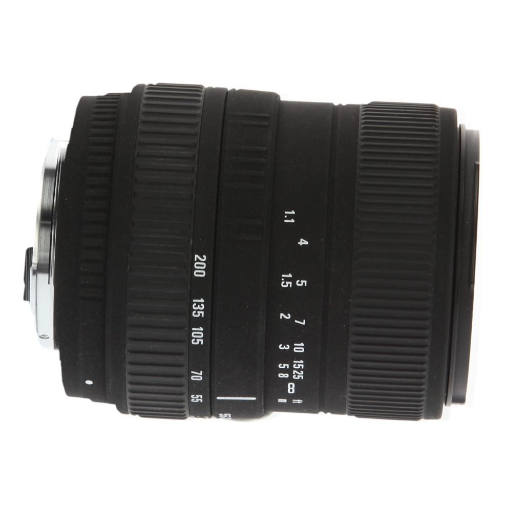 Sigma 55-200mm 1:4-5.6 DC für Pentax schwarz - neu