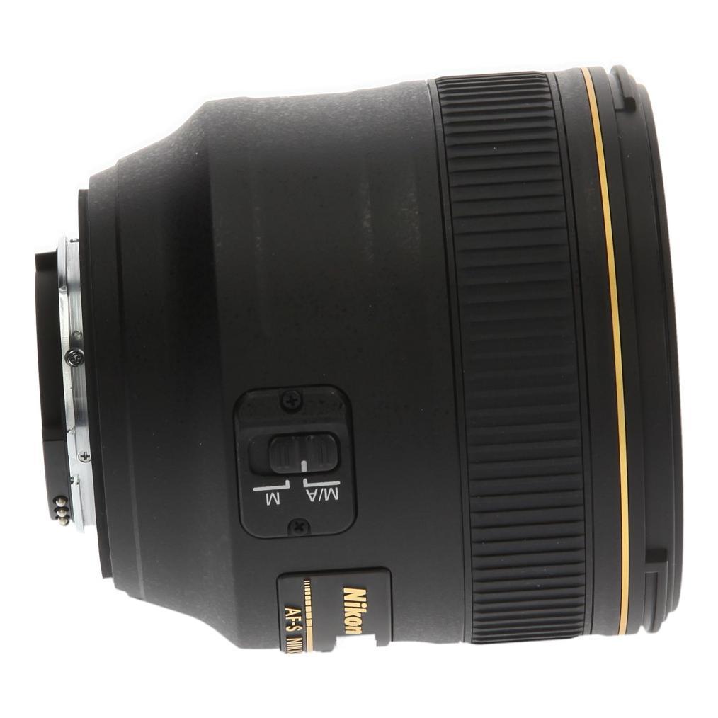 Nikon AF-S 85mm 1:1.4 G NIKKOR negro - nuevo