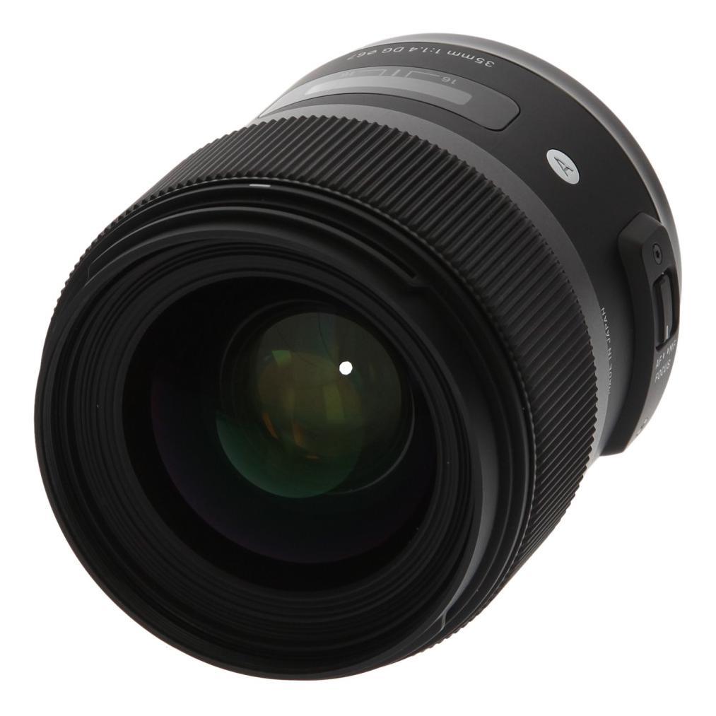 Sigma 35mm 1:1.4 DG HSM Art für Nikon Schwarz - neu