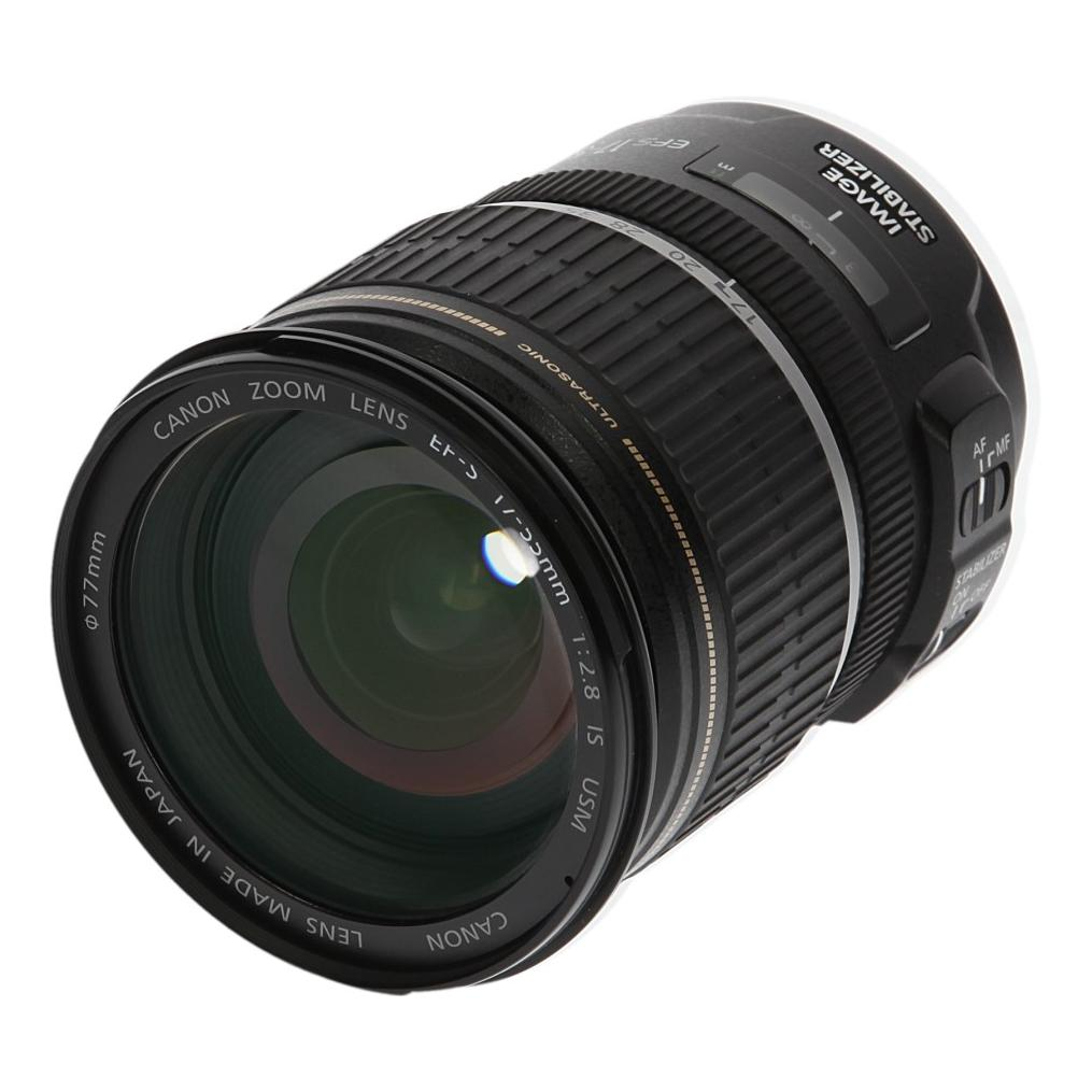 Canon EF-S 17-55mm 1:2.8 IS USM negro - buen estado