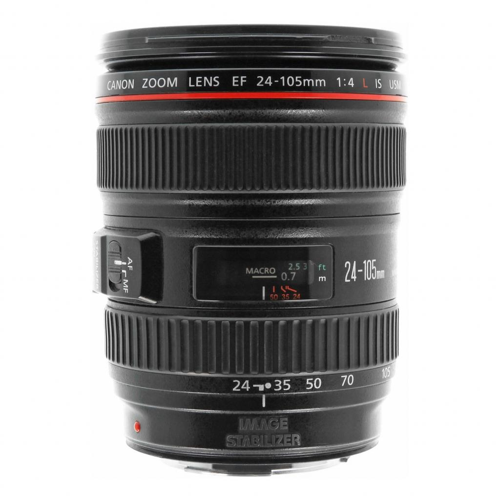 Canon EF 24-105mm 1:4 L IS USM negro - buen estado