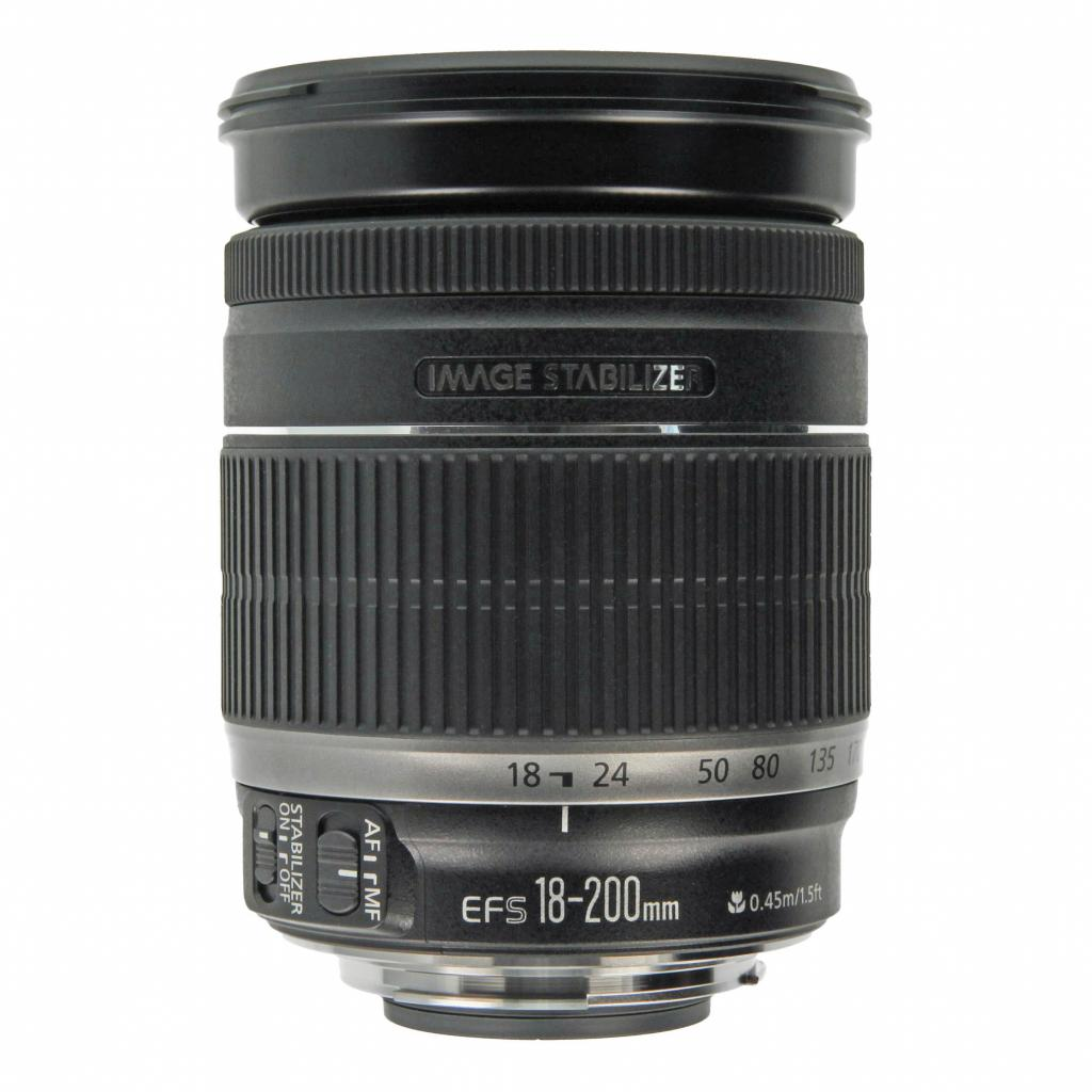 Canon EF-S 18-200mm 1:3.5-5.6 IS Schwarz - neu