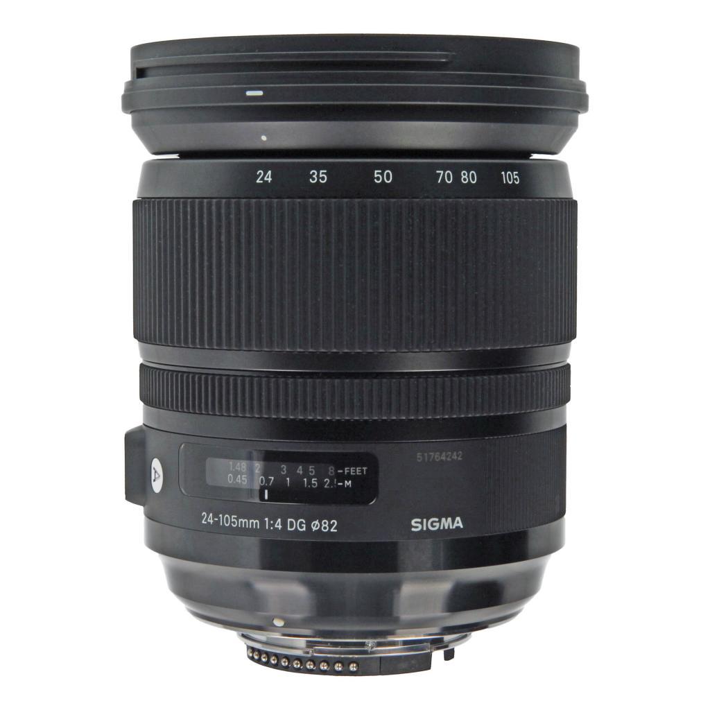 Sigma 24-105mm 1:4 DG OS HSM für Nikon Schwarz - neu