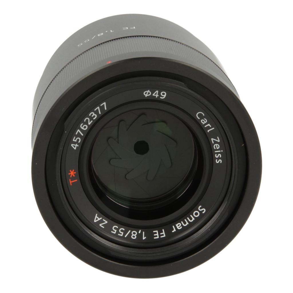 Sony 55mm 1:1.8 AF FE T* ZA Schwarz - neu
