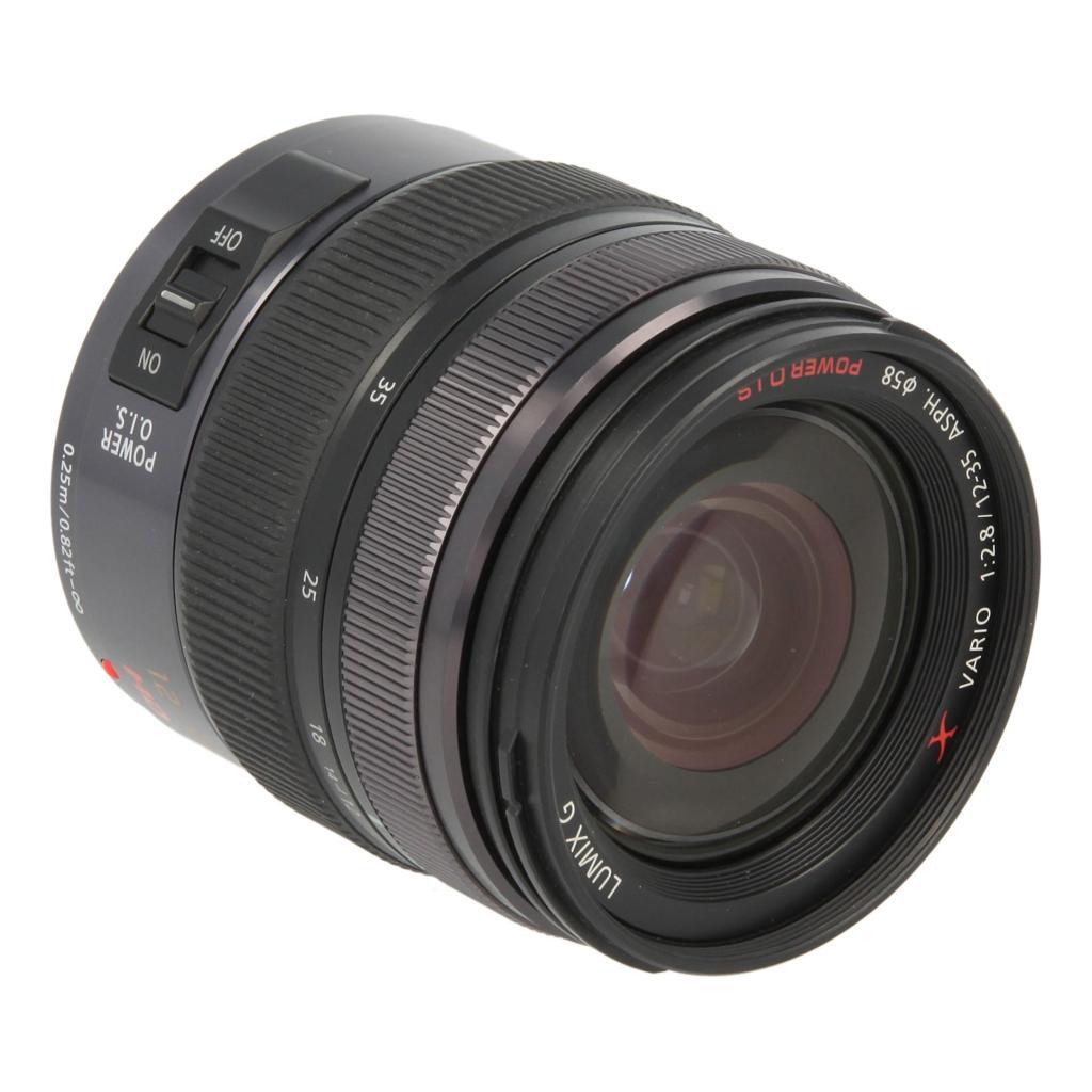 Panasonic 12-35mm 1:2.8 Lumix G X Vario ASPH OIS Micro Four Thirds Schwarz - neu