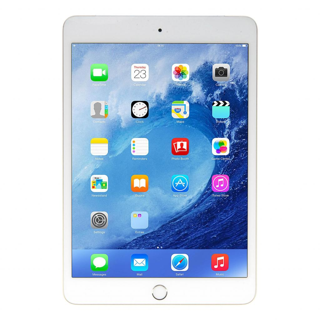Apple iPad mini 3 WiFi +4G (A1600) 64GB oro - como nuevo