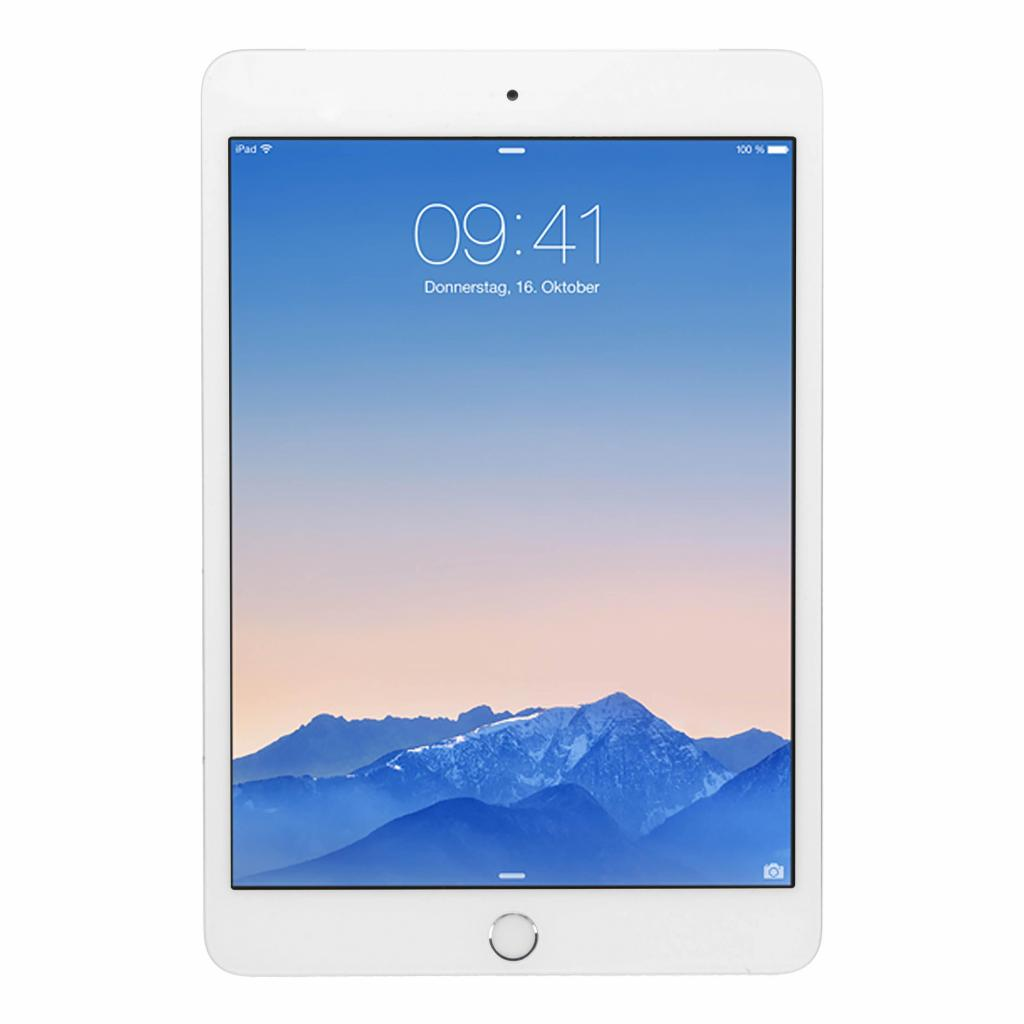 Apple iPad mini 3 WiFi +4G (A1600) 64GB plata - como nuevo