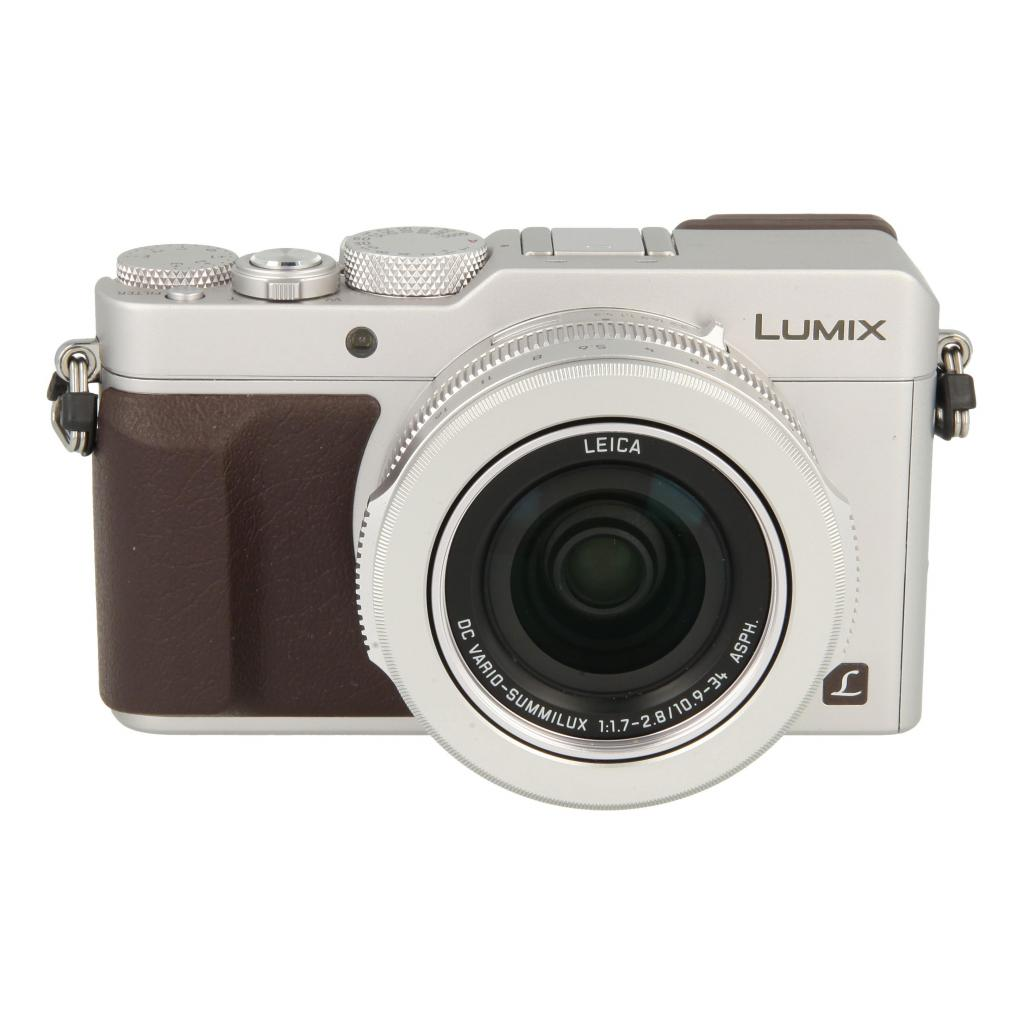 Panasonic Lumix DMC-LX100 Silber - gut