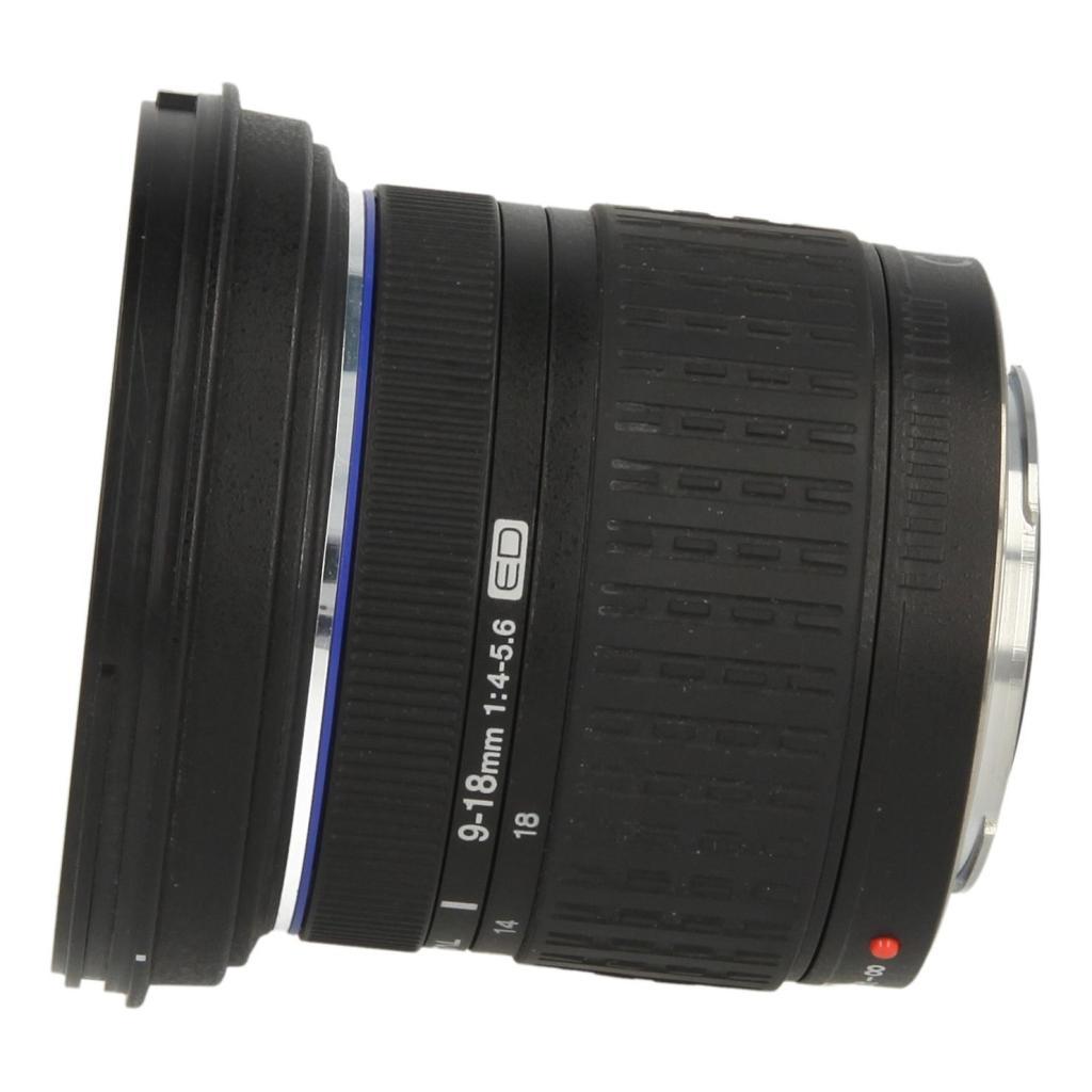 Olympus Zuiko Digital 9-18mm 1:4.0-5.6 ED Four Thirds Schwarz - neu