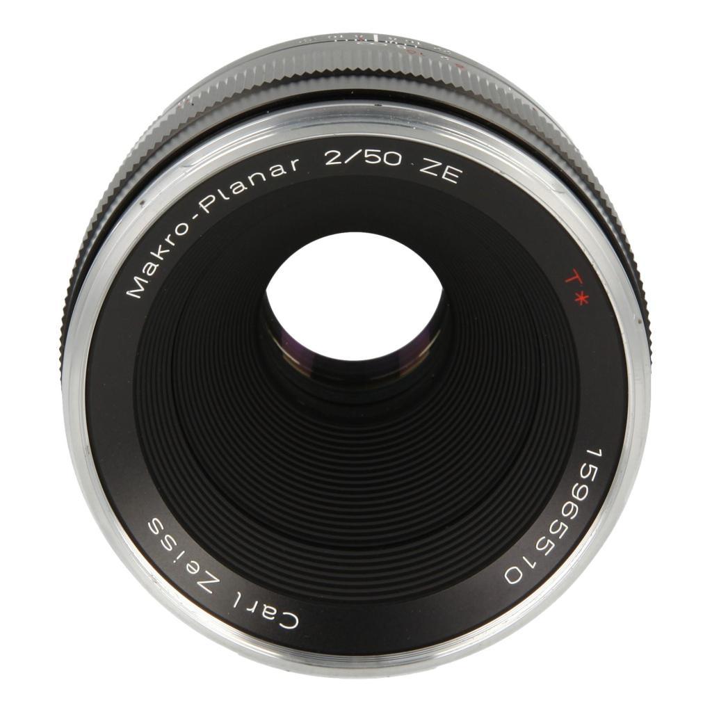 Zeiss Planar T* 2/50 ZE mit Canon EF Mount Schwarz - neu