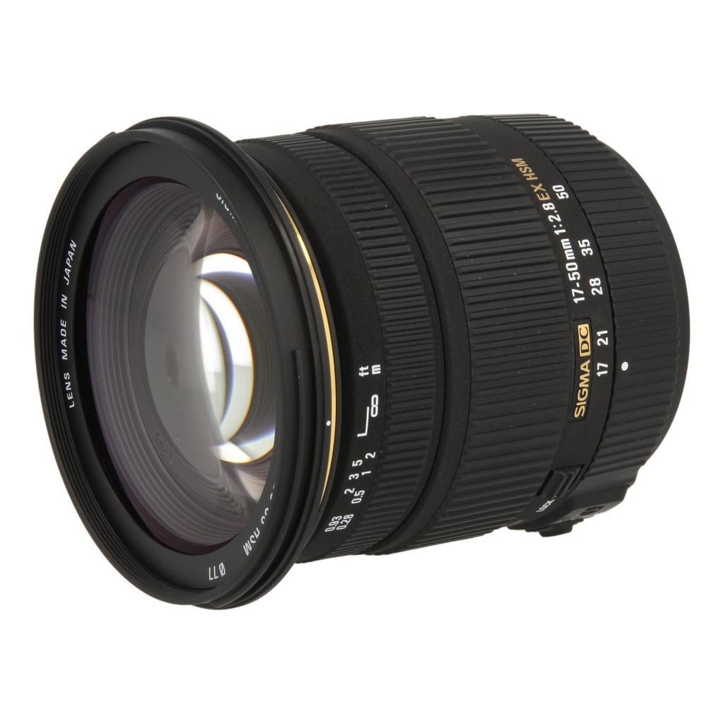Sigma 17-50mm 1:2.8 EX DC OS HSM für Sony / Minolta schwarz - neu