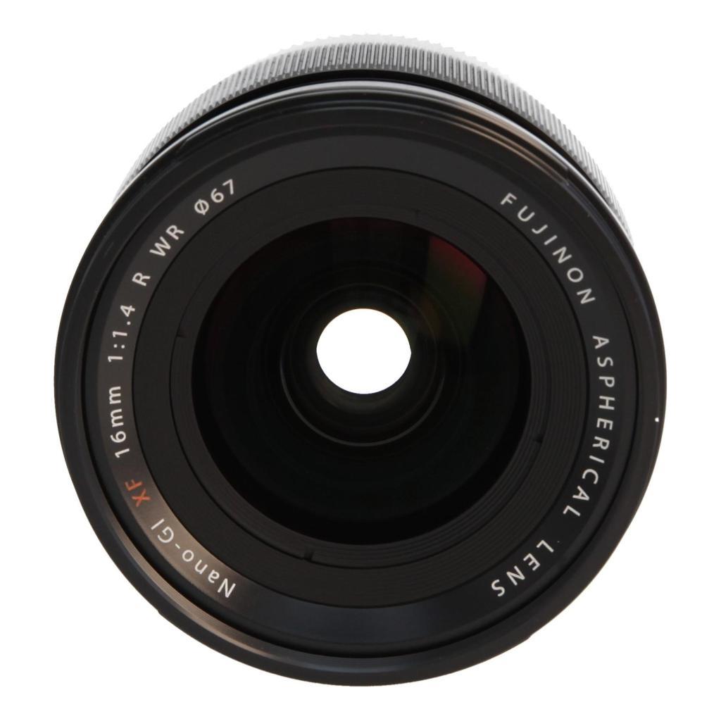 Fujifilm 16mm 1:1.4 XF R WR Schwarz - neu