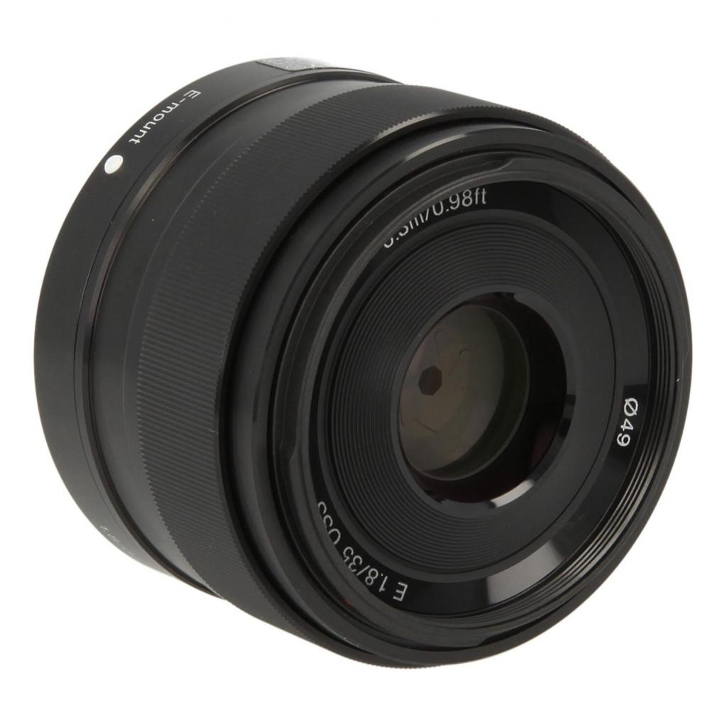 Sony 35mm 1:1.8 AF E OSS Schwarz - neu