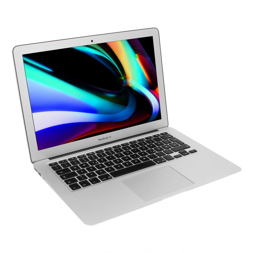 "Apple MacBook Air 2015 13,3"" (QWERTZ) Intel Core i5 1,6 GHz 128 GB SSD 8 GB plata - muy bueno"