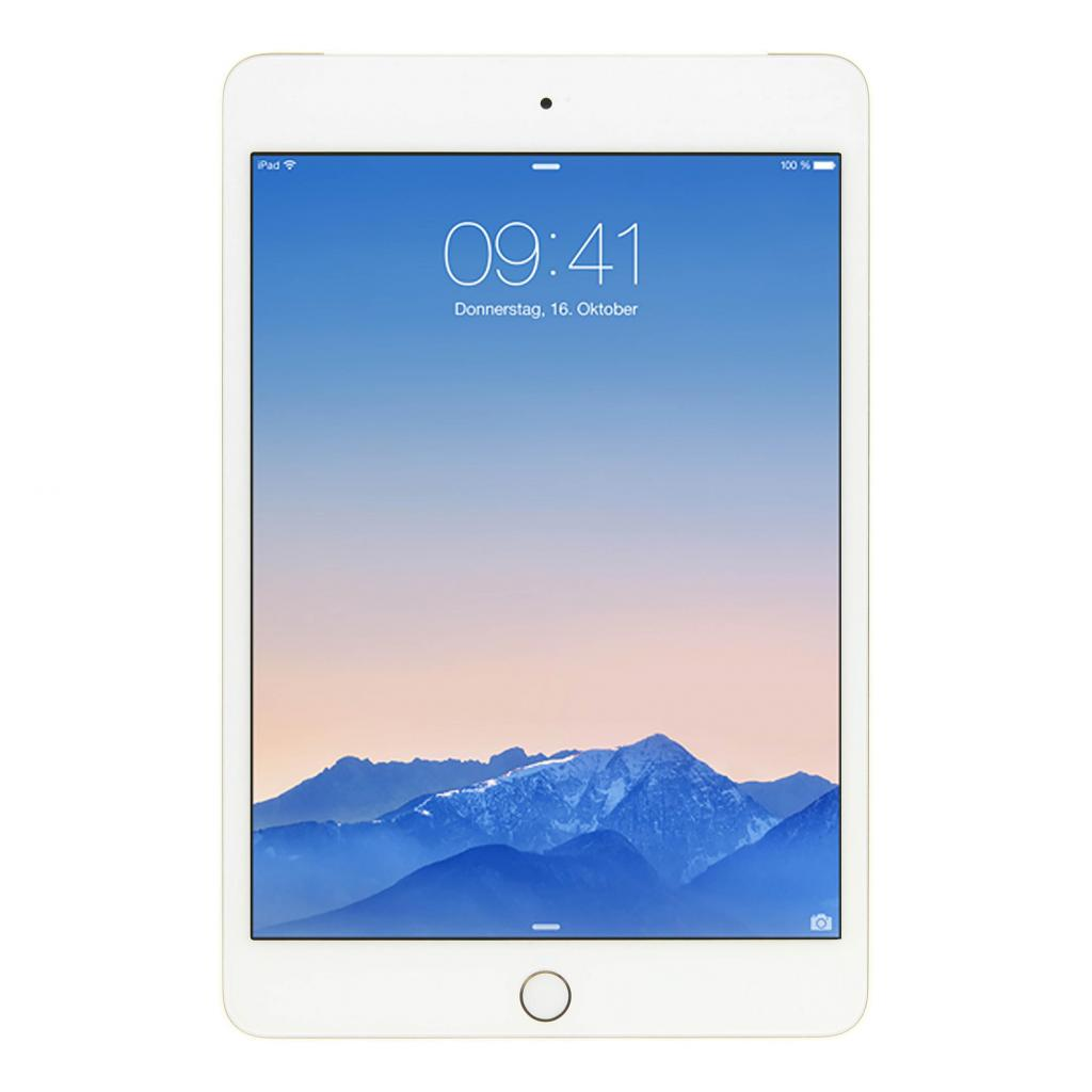 Apple iPad mini 4 WLAN + LTE (A1550) 128 GB Gold - neu