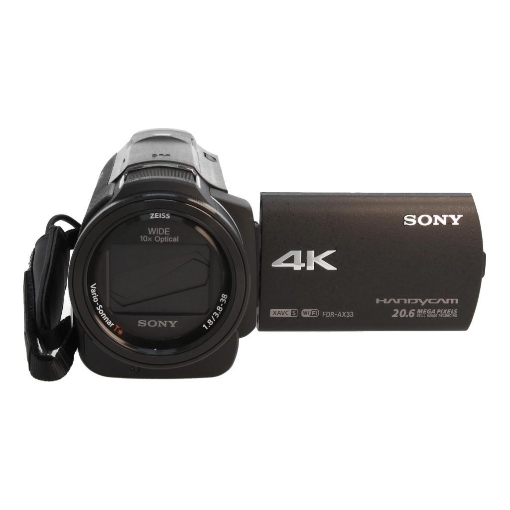 Sony FDR-AX33 noir - Neuf