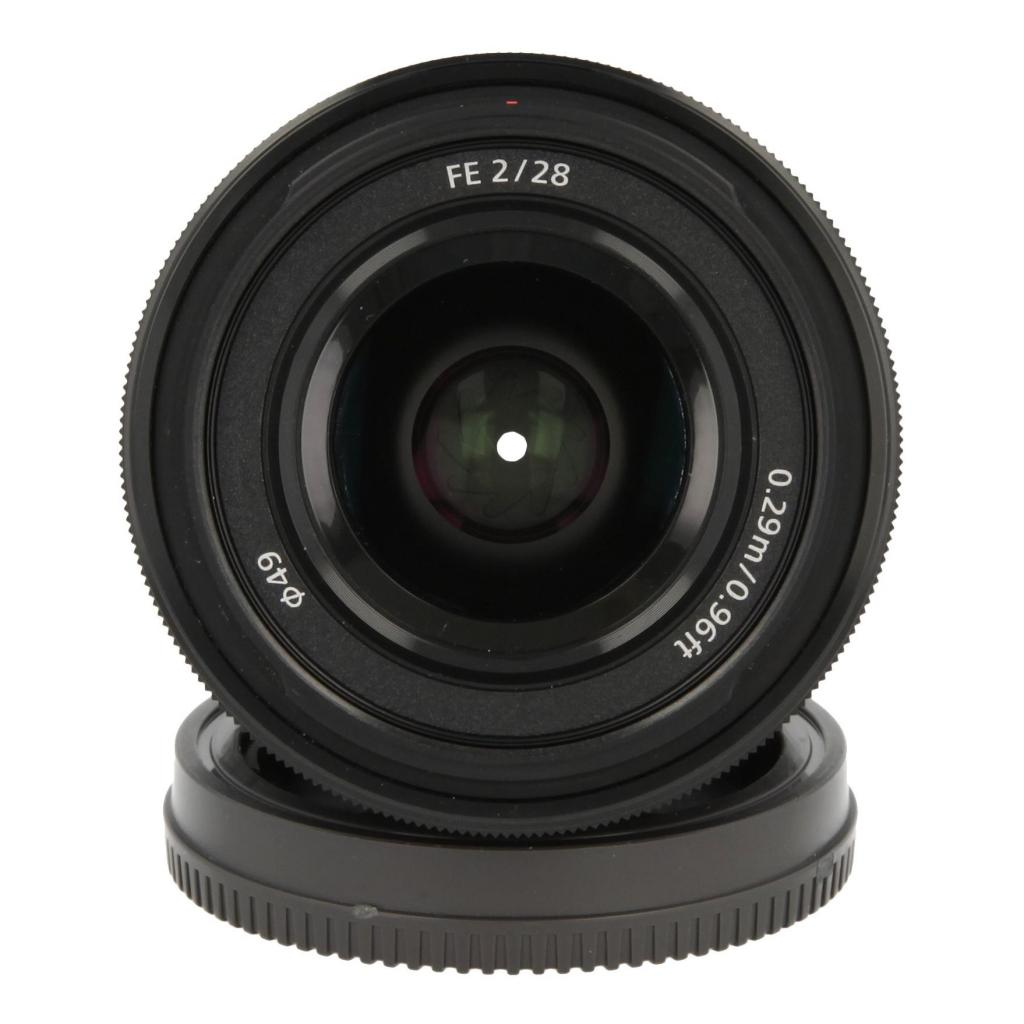 Sony 28mm 1:2.0 FE Schwarz - neu