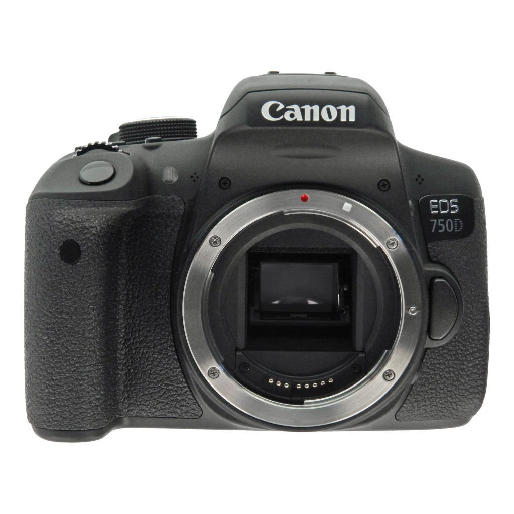 Canon EOS 750D Schwarz - neu