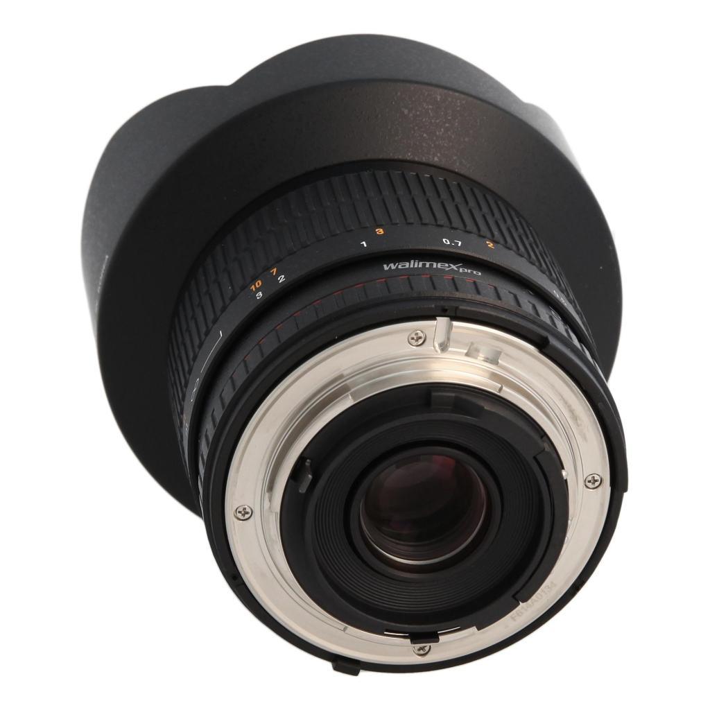 Walimex Pro 14mm 1:2.8 F AE für Nikon schwarz - neu